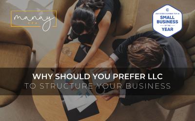 Why should you prefer LLC Manay CPA Blog